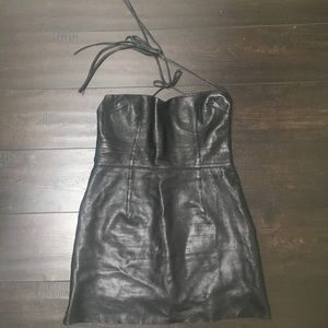 Dresses & Skirts - Beautiful Vintage Leather Dress